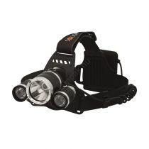 Solight LED fejlámpa 3x Cree chip/ 4xAA